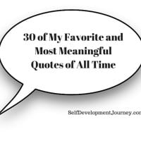 30 of My Favorite and Most Meaningful Quotes of All Time