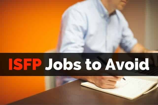 ISFP Jobs to Avoid Sales Rep and Manager