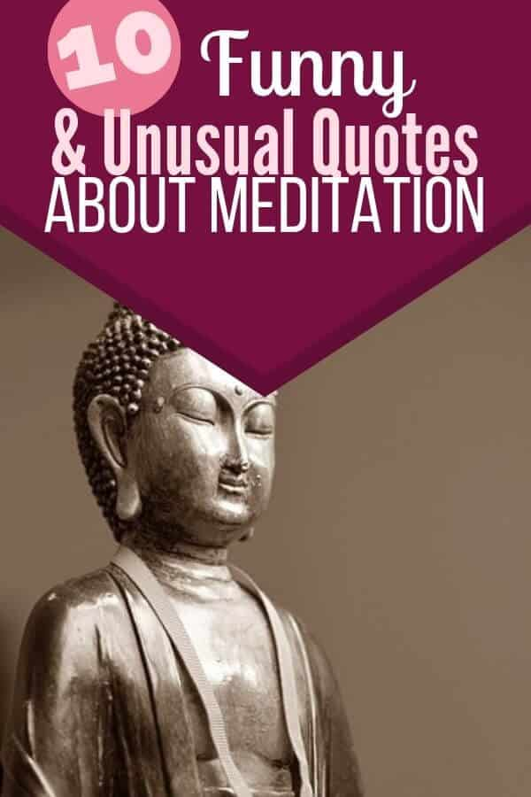 Funny meditation quotes