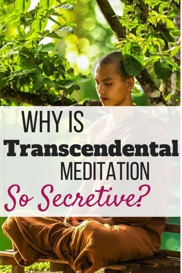 Why Is Transcendental Meditation so Secretive