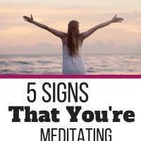 How Do I Know If I Am Meditating Correctly
