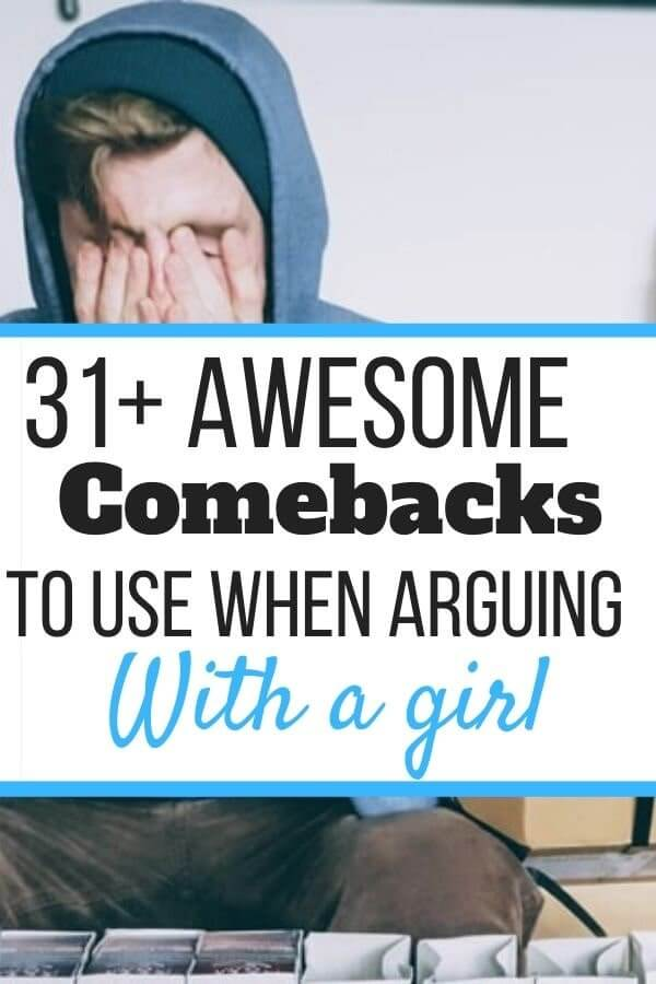 Good Comebacks in an Argument With a Girl