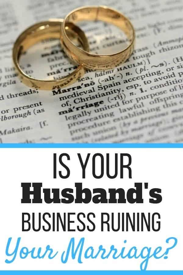 My Husband's Failing Business Is Ruining Our Marriage