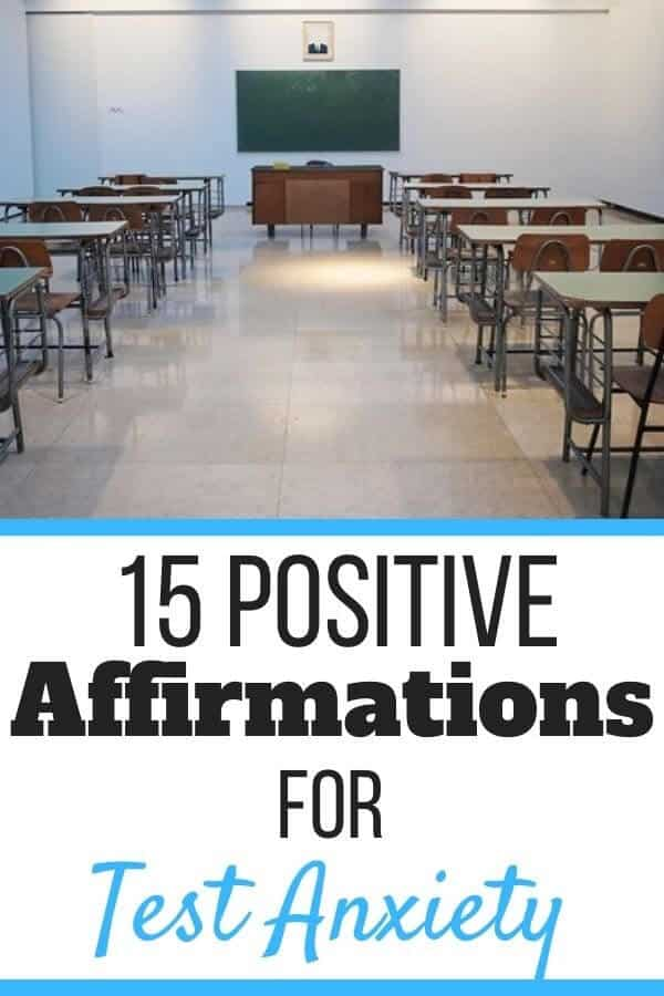 Positive Affirmations for Test Anxiety