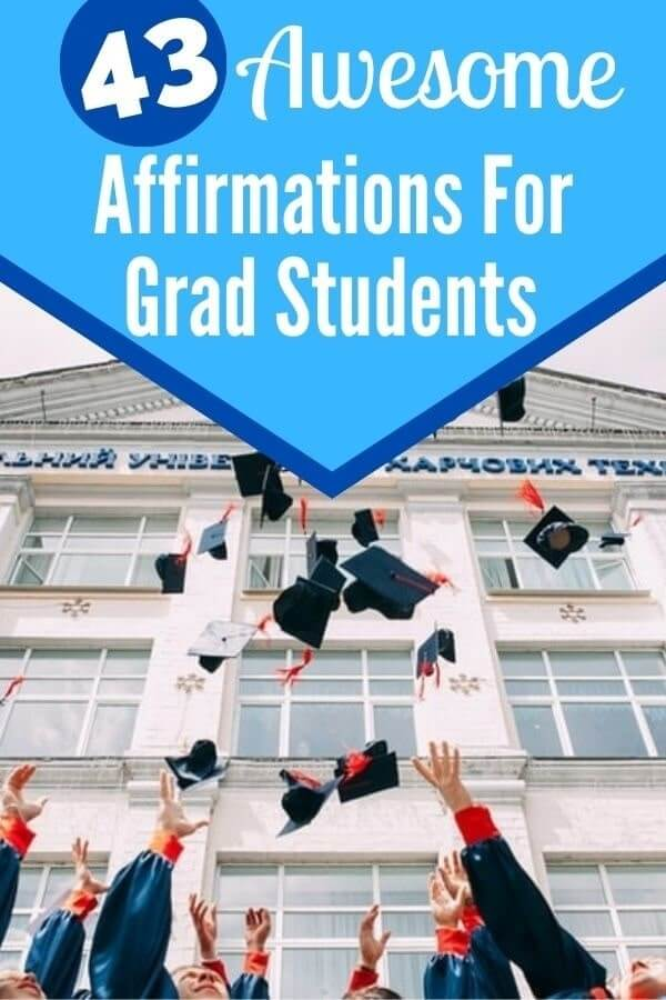Affirmations for Graduate Students