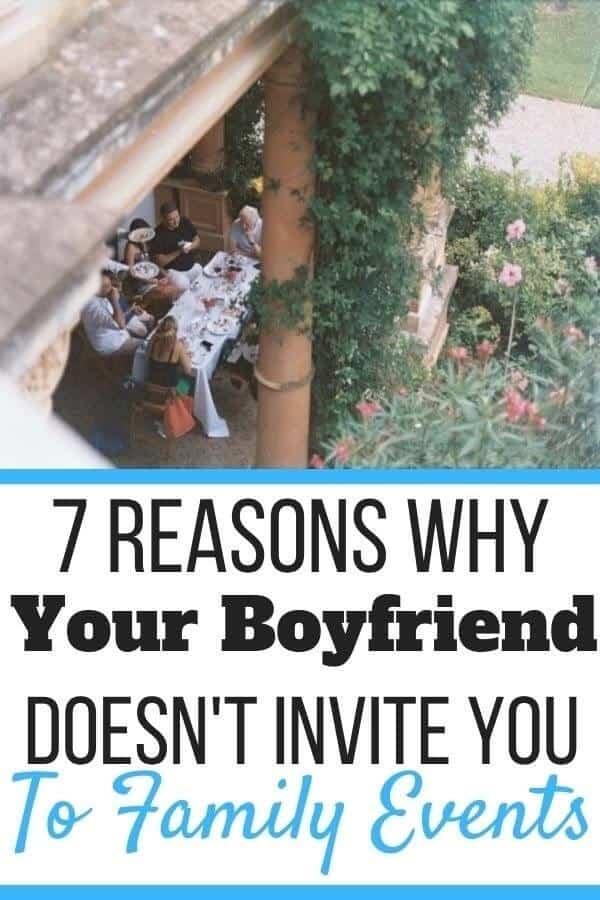 Boyfriend Never Invites Me to Family Events
